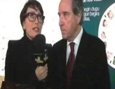 Thais Villas habla con embajadores del País Vasco