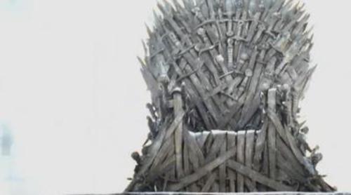 El trono protagoniza el nuevo trailer de 'Juego de tronos'