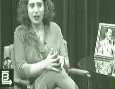 """Berto imita a Eva """"Braun"""", esposa de Hitler, en 'Buenafuente'"""