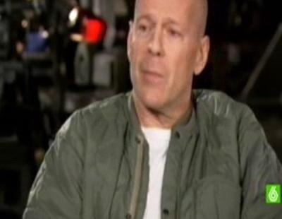 "Bruce Willis: ""Ha sido un placer dar una paliza a Telecinco"""