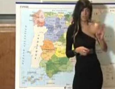 Iratxe de 'Princesas de barrio' se presenta a un casting para presentar el tiempo