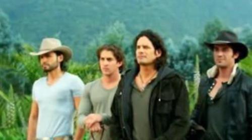 'Los herederos Del Monte', detrás de las cámaras