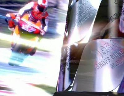Presentación del último Mundial de Motociclismo en TVE