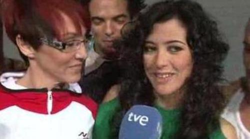 """Lucía Pérez ensaya su actuación de """"Que me quiten lo bailao"""""""