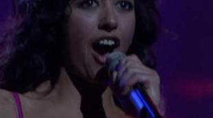 Primer ensayo de Lucía Pérez en el Festival de Eurovisión 2011
