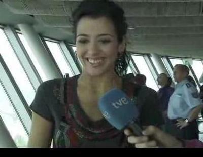 Lucía Pérez comparte su alegría con sus fans en Düsseldorf