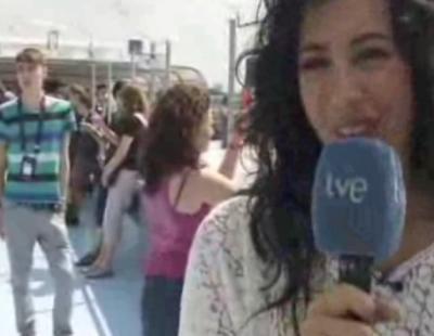 Lucía Pérez descansa antes de Eurovisión con un crucero por el Rhin