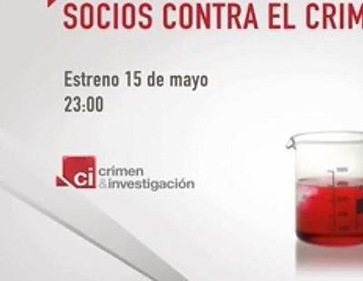 Promo de 'Socios contra el crimen', la nueva serie documental de Crimen & Investigación
