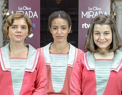 """Dariam Coco ('La otra mirada'): """"Inés sorprende porque las alumnas nunca han tenido una compañera morena"""""""