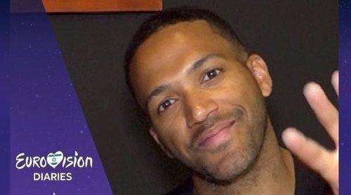 """Cesár Sampson: """"Espero que Famous tenga la oportunidad de ir a Eurovisión porque es su sueño"""""""