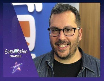 """Víctor Escudero en 'Eurovisión Diaries': """"Me encanta la relación de 'Operación triunfo' con el Festival"""""""