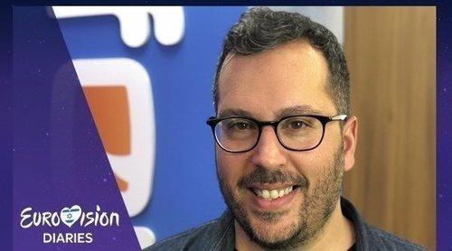Víctor Escudero en 'Eurovisión Diaries':