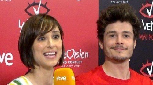 Eurovisión 2019: Rueda de prensa de TVE antes del viaje de Miki a Israel