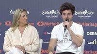 Rueda de prensa completa de Miki Núñez tras su primer ensayo en Eurovisión