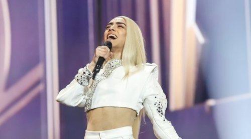 """Eurovisión 2019: Primer ensayo general de Bilal cantando """"Roi"""" (Francia)"""