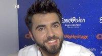 """Chingiz: """"No he venido a Eurovisión con flamenco porque me lo guardo para la próxima"""""""