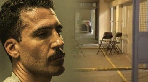 El plató de 'En el corredor de la muerte', la serie Movistar+ y Bambú Producciones, al descubierto
