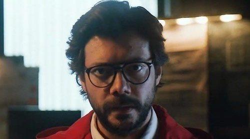 El Profesor desvela el detonante de la tercera temporada de 'La Casa de Papel'