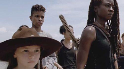 'The Walking Dead': La guerra estalla contra los Susurradores en el tráiler de la décima temporada