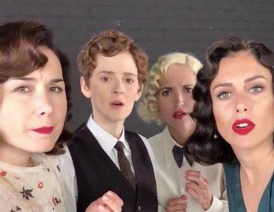 El reivindicativo crossover de 'Las chicas del cable' y las mujeres de 'Élite' a través de los años