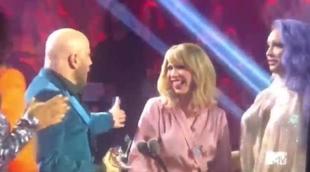 John Travolta confunde a Jade Jolie con Taylor Swift en los MTV Video Music Awards