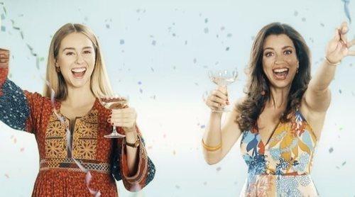 Cabecera de 'Amar es para siempre' de la octava temporada con la sintonía de Chenoa