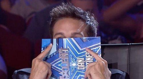 'Got Talent España 5': Dani Martínez, asustado y sorprendido con las actuaciones de la edición