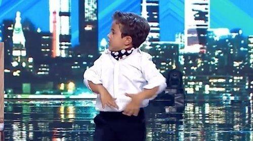 'Got Talent España 5': Mario Prieto, un niño de 6 años que baila flamenco y reggaetón, en el segundo programa