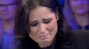 Rosa López, derrumbada en el reencuentro 'OT' en 'Aquellos maravillosos años' con Gisela, Natalia y Geno