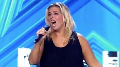 'Got Talent 5': Florencia, firme candidata al Pase de Oro de la segunda gala, emociona al jurado