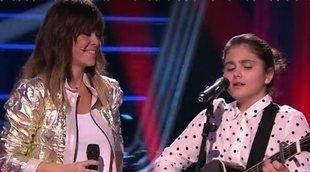 """Isabel cumple su sueño de cantar """"Borracha de amor"""" con Vanesa Martín en 'La Voz Kids'"""