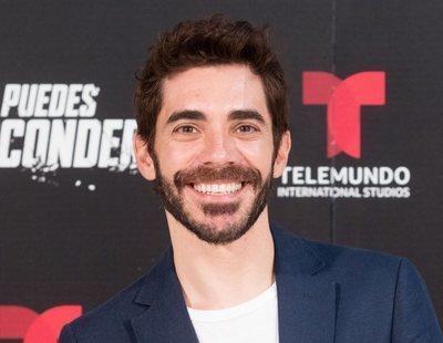 """Juan Caballero ('No te puedes esconder'): """"Se planteó que mi personaje hablase con acento mexicano"""""""