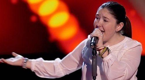 María Calero logra pleno de los coaches con una canción de Falete en 'La Voz Kids'