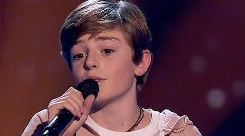Miguel Martín, de 'La Voz Kids', emociona a Vanesa Martín y Melendi con su actuación en francés