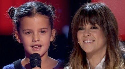 """Alicia Paramés y su momentazo con los coaches de 'La Voz Kids': """"¿Os habéis dado la vuelta o no?"""""""