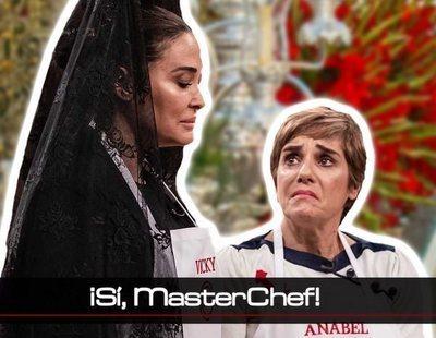 ¡Sí, MasterChef!: ¿Ha comenzado Vicky Martín Berrocal a tomarse en serio 'MasterChef Celebrity 4'?