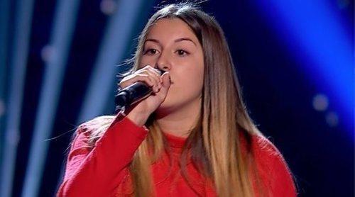 Giada Alessio arrasa en 'La Voz Kids' con pleno de coaches gracias a su espectacular actuación