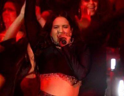 """MTV EMAs 2019: Rosalía monta la fiesta en Sevilla con """"Di mi nombre"""" y """"Pienso en tu mirá"""""""