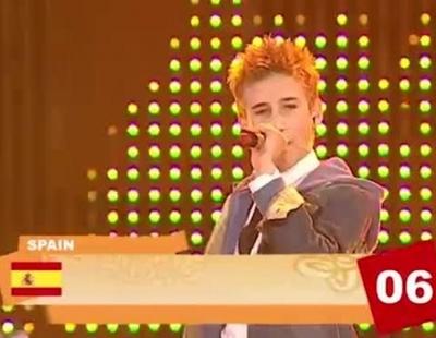 "Dani Fernández representa a España en Eurovisión Junior 2006 con ""Te doy mi voz"""