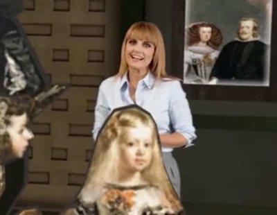 Telemadrid celebra los 200 años del Museo del Prado metiendo a sus presentadores en sus cuadros