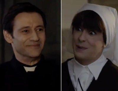 'La que se avecina': Alba Recio se lanza al Padre Alejandro en esta promo del 11x10