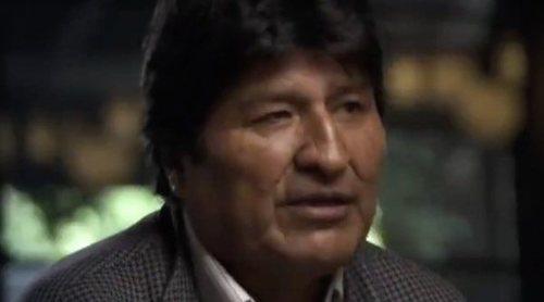 Gonzo entrevista a Evo Morales en 'Salvados' el domingo 1 de diciembre en laSexta