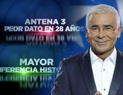 """Mediaset carga contra Antena 3 en su nueva promo: """"En noviembre consigue su peor dato en 28 años"""""""