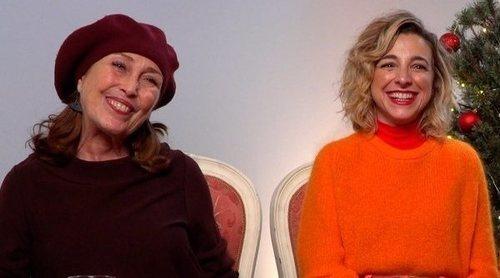Verónica Forqué y Anna Moliner ('Días de Navidad'):