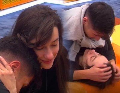 'Diario de GH VIP 7': Así ha sido la noche de Adara y Gianmarco con beso incluido