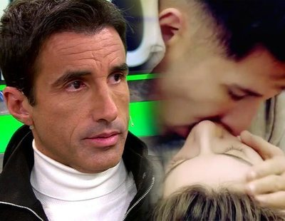 'Diario de GH VIP 7': Hugo Sierra, hundido tras los besos de Adara y Gianmarco