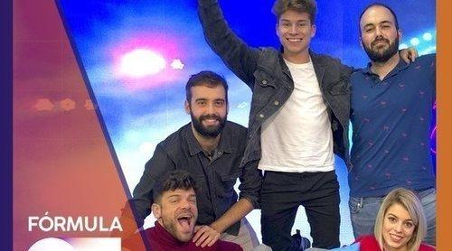 """Nerea, Raoul y Ricky ('OT 2017'): """"Cuando cantamos el último 'Camina' nos dio un ataque de ansiedad"""""""
