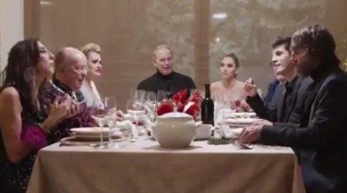 'Mi casa es la tuya': Bertín Osborne celebra una Nochebuena especial con Paz Padilla, Rappel y Jesús Vázquez