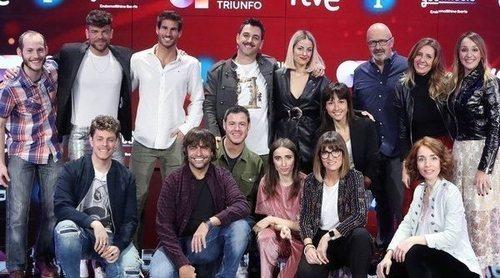 Rueda de prensa de 'Operación Triunfo 2020' en el plató