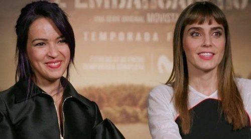 """Verónica Sánchez e Irene Arcos: """"'El embarcadero' tiene un final porque hay que saber terminar"""""""